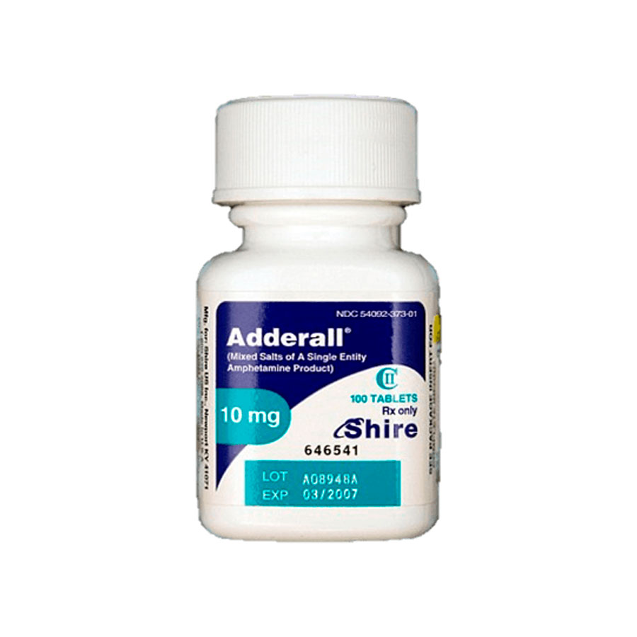 who manufactures adderall brand name